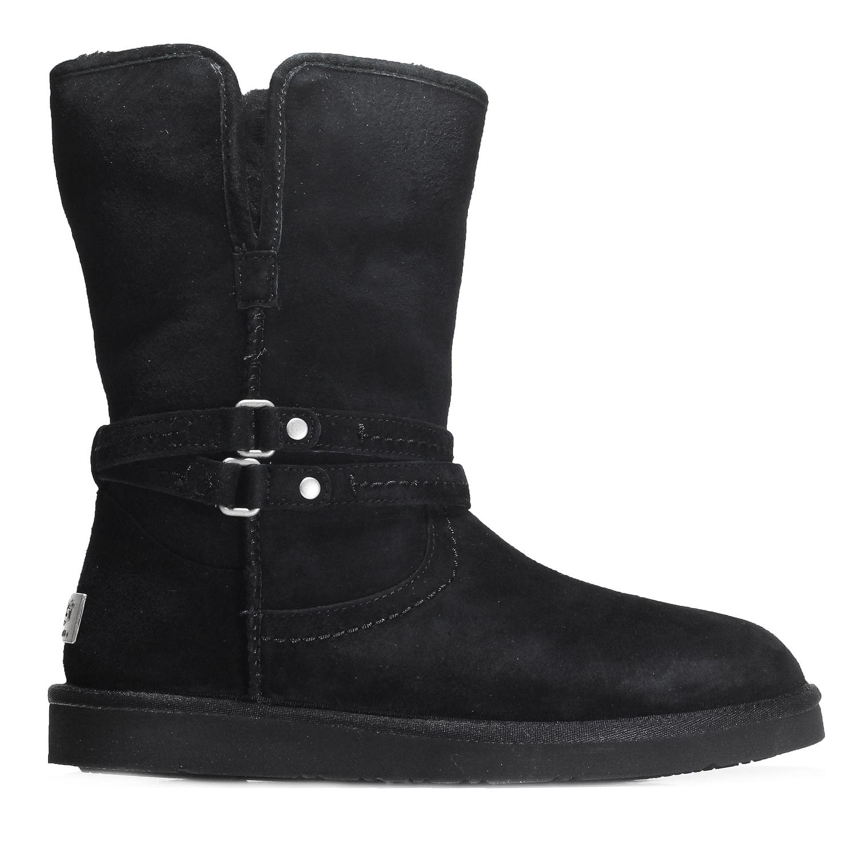baa02e09e16 Details about UGG Australia Women's Palisade Boot shoes 1007700W Black
