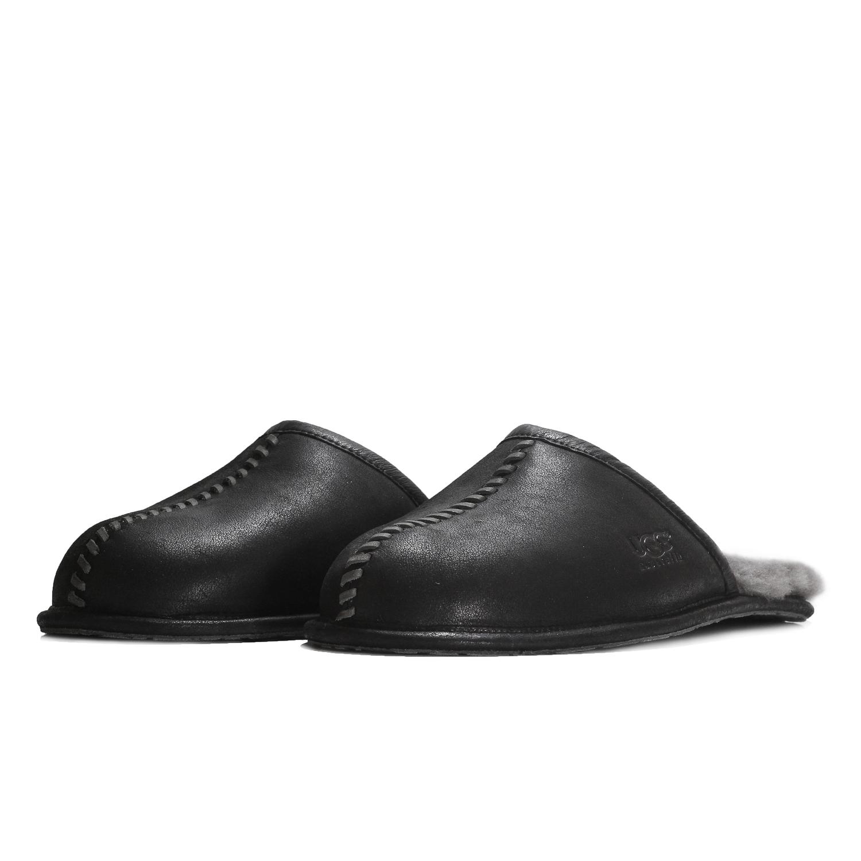 2fbe4ed929d Details about UGG Men's Scuff Deco 1008548M Slipper Shoes Black