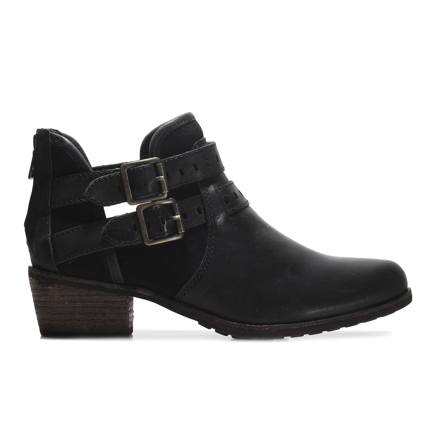 ab3cbc54cfa Details about Ugg Australia Patsy Women Round Toe Ankle Boot shoes 1010203W  Black