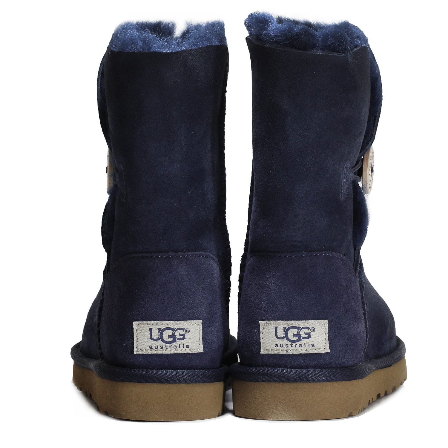 a7a5798f77c Details about Ugg Women's Bailey Button Ankle Boot Shoes 5803W Navy