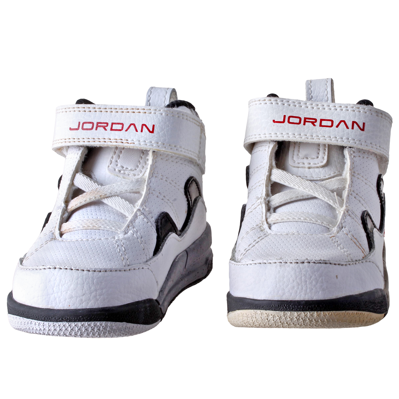 8e4f8da783ac93 Nike Boy s Jordan Flight TR 97 TD Shoes 428829-120 White sz 5
