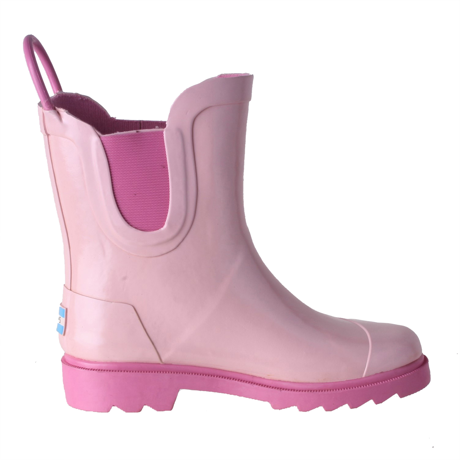 4e2fb76082a Details about Toms Girls Rain Boot shoes Pink Rubber 10003580 Size 6