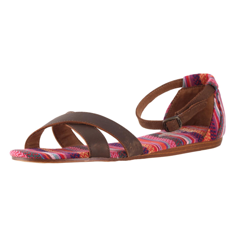 a533d0c48ee4 Details about Toms Women s Correa Sandal Stripes Mix 10001397 size 9.5