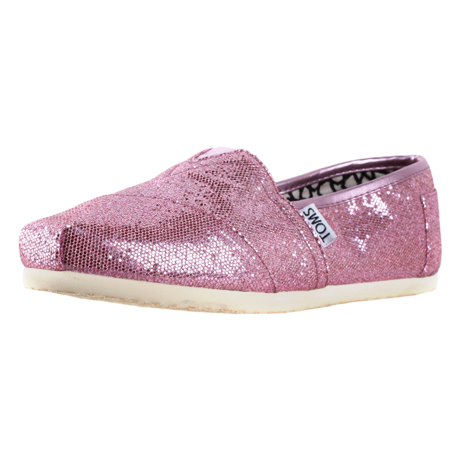 2e0780bebd1 Toms womens classics slip on glitter shoes pink JPG 1500x1500 Purple glitter  toms shoes