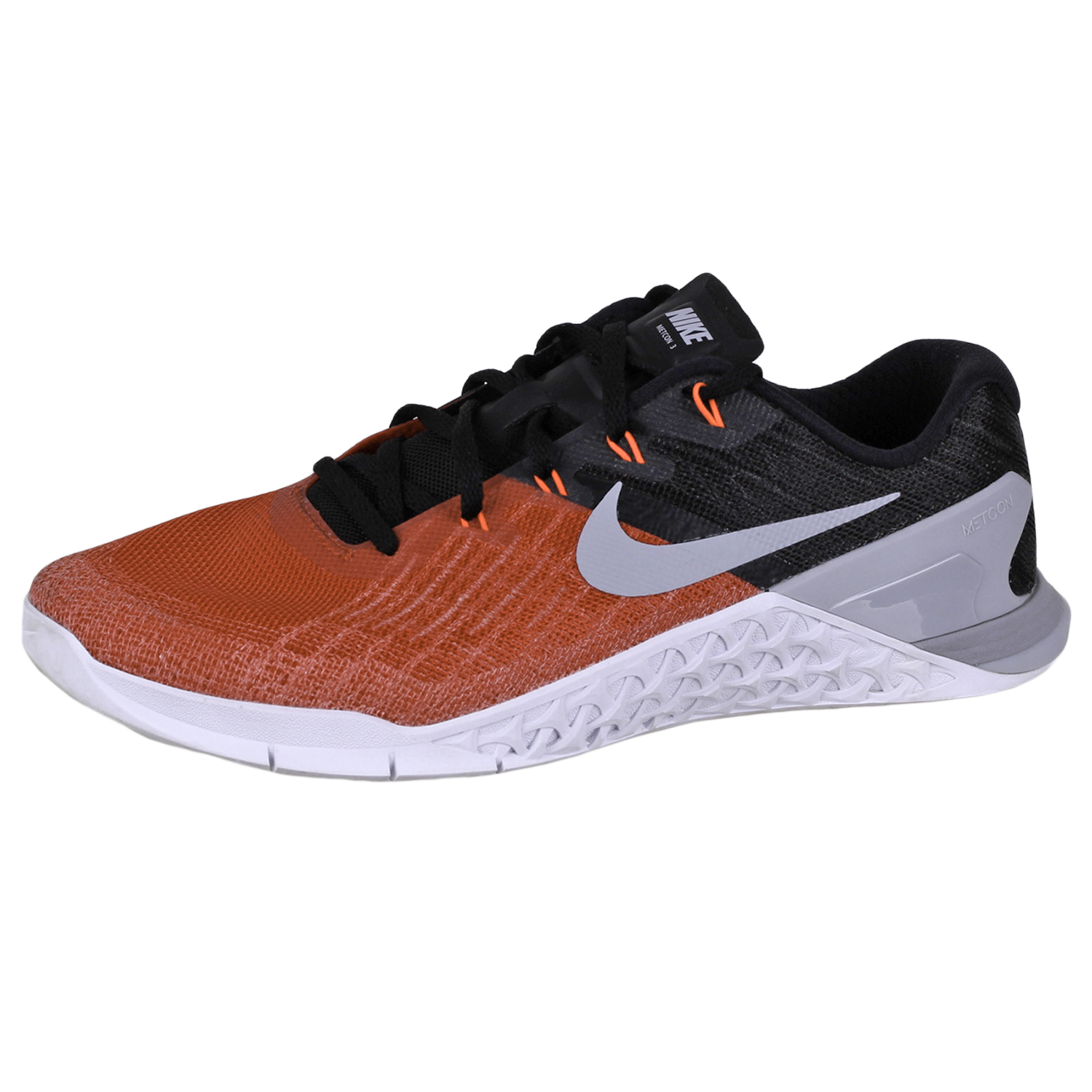 ac98b90e784 Details about Nike Men s Metcon 3 Shoes 852928 Red Black White Wolf Grey 8.5