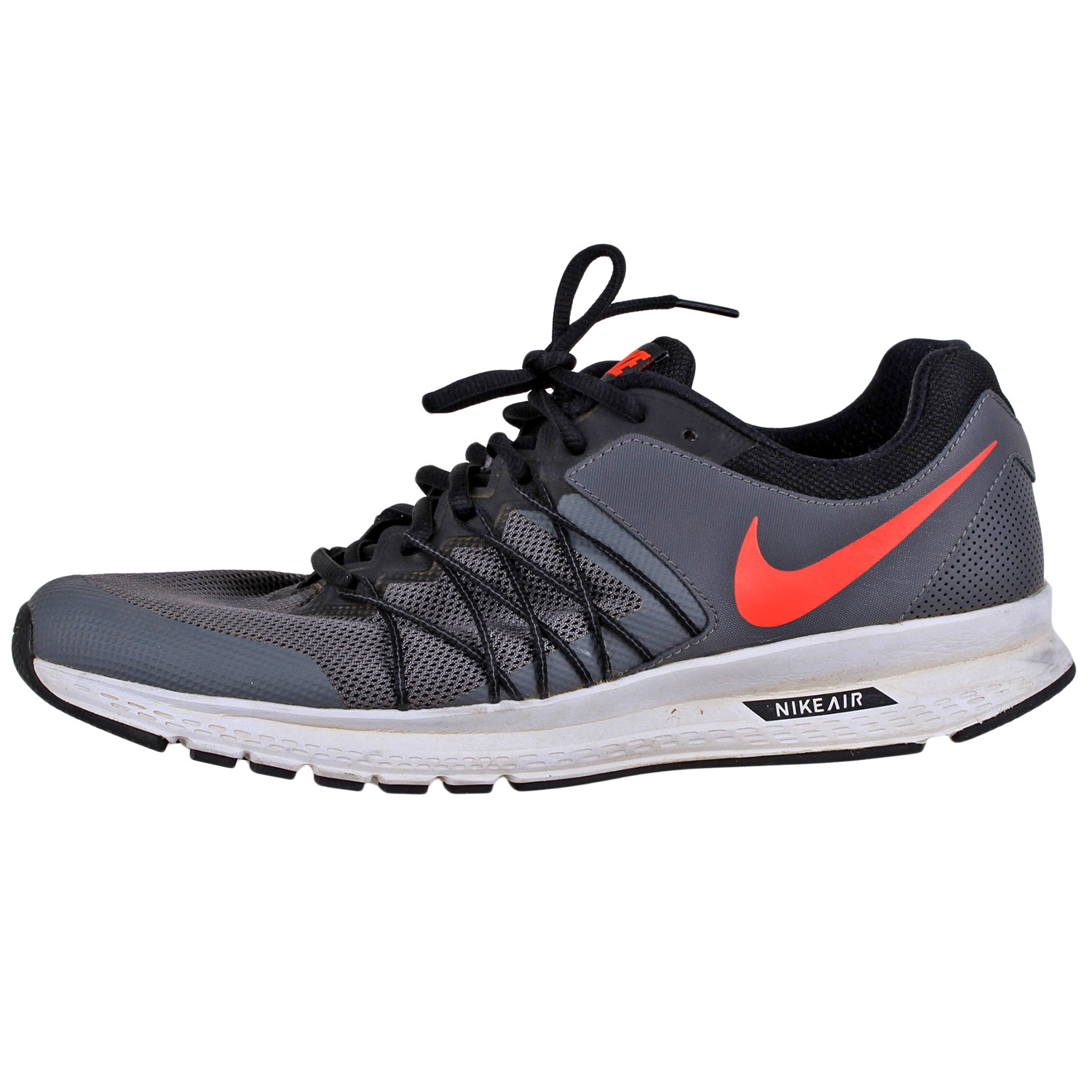 new arrival 3bb1c 2d31d Details about Nike Mens Air Relentless 6 Running Shoes 843836 Dark  Grey Orange sz10.5