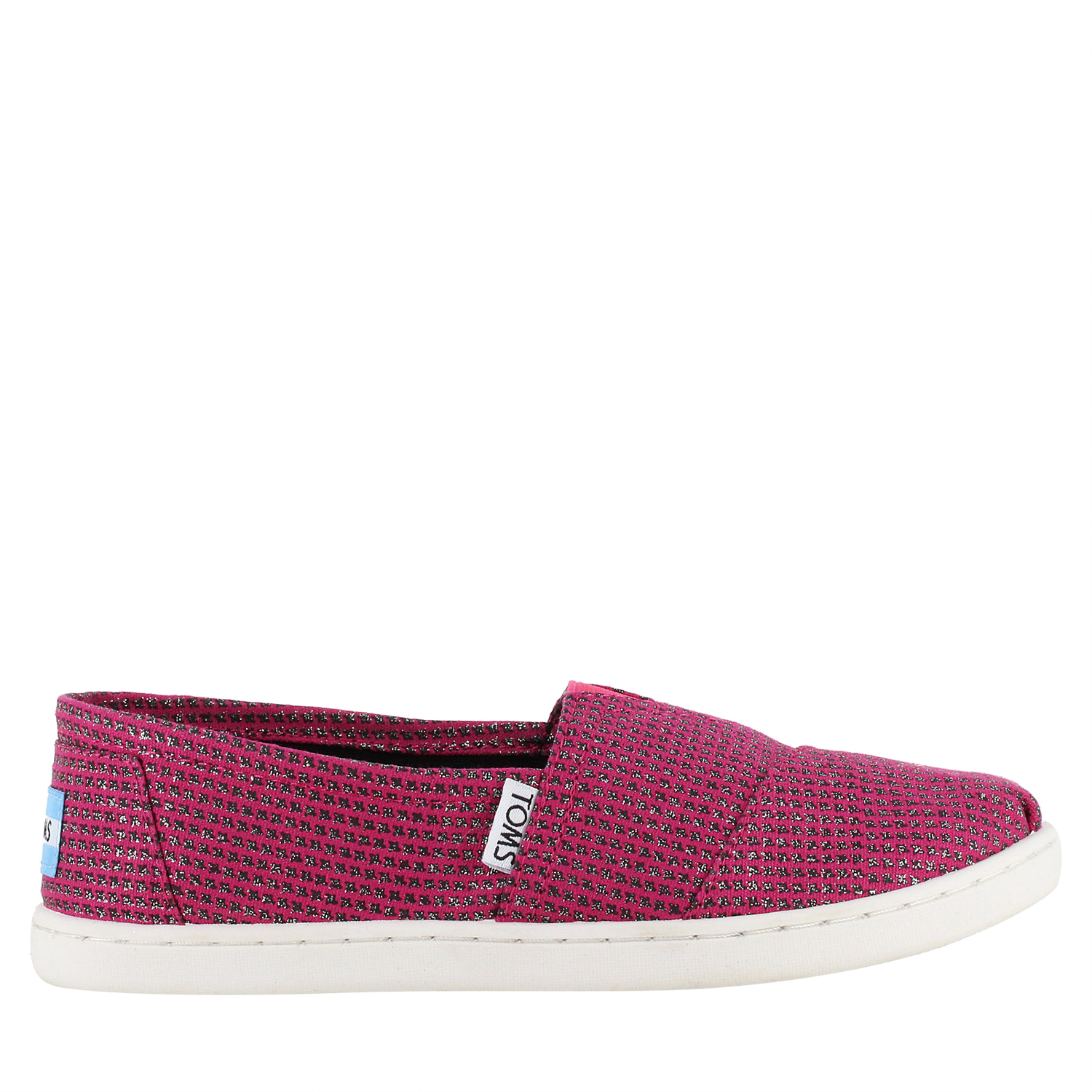 64115f01111 Details about TOMS YOUTH CLASSIC SLIP-ON Canvas SHOES 10003572 SIZE 3.5