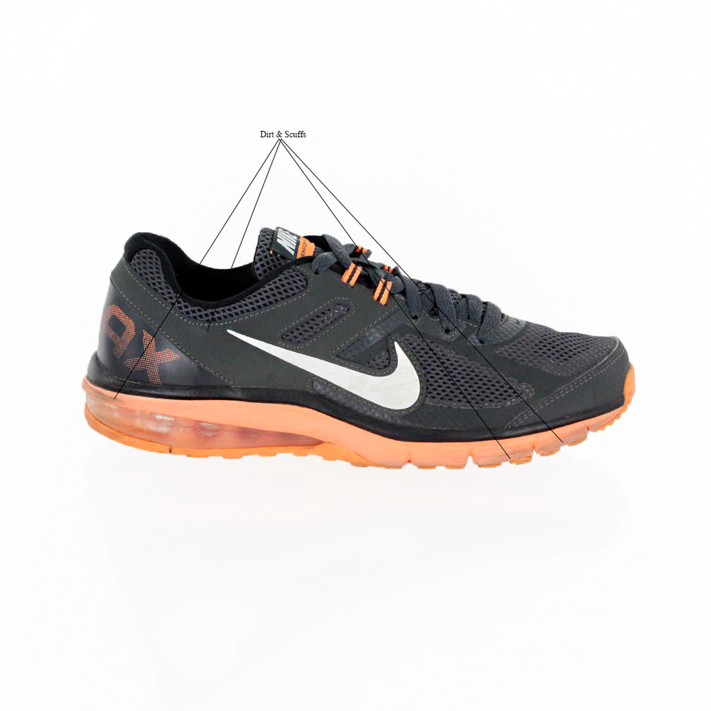 NIKE MAX DEFY RN Hombre Para Correr AIR Zapatos 599343 008