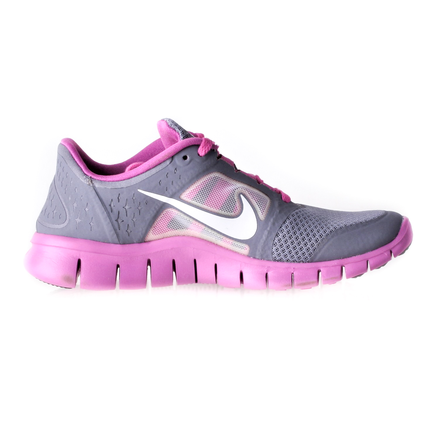 Details about NIKE FREE RUN 3 (GS) KIDS ATHLETIC SHOES 512098 005 size 4