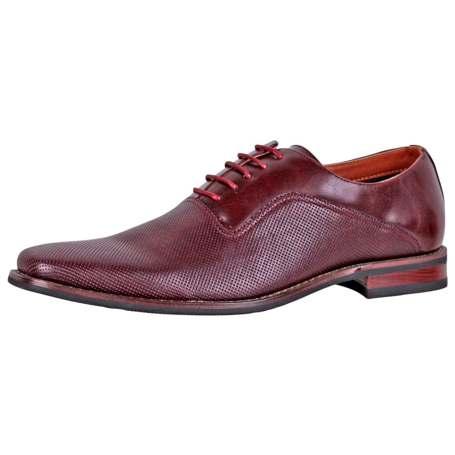 Details about Ferro Aldo Mens Lalo Oxford Dress Shoe MFA19539L Wine Size  10.5 ea3be331d48