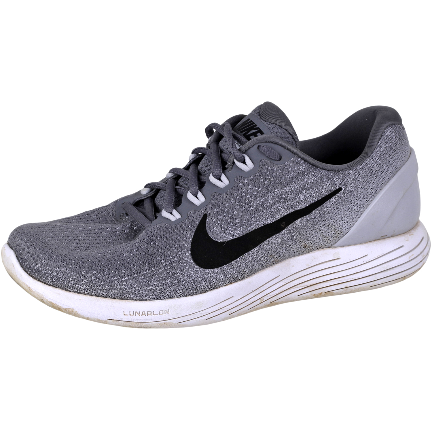 6e83dbff322 Details about Nike Men's Lunarglide 9 Running Shoes 904715 Cool Grey 10