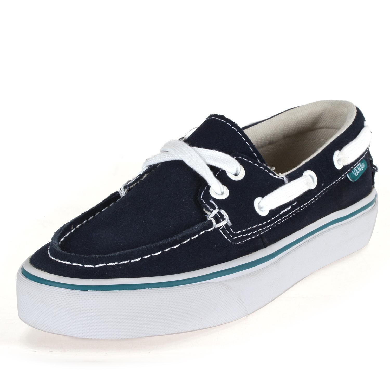 da372ad2f3 Details about Vans Mens Era Skate Shoes VN-0XC3XA2-4EY Blue Size 4