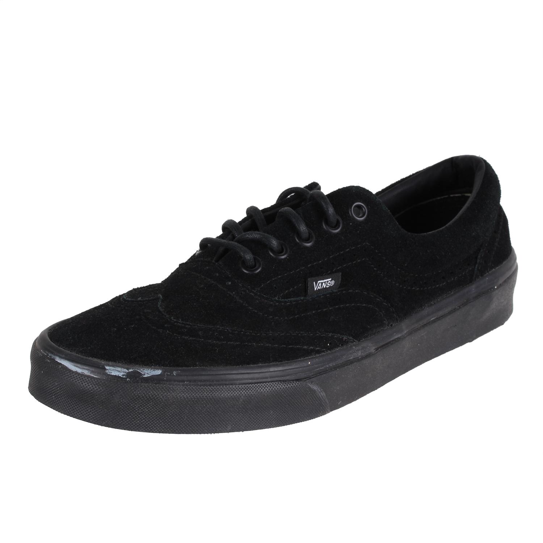 77742aac29 Vans Men s Zapato Del Barco Shoes VN-BLKCLASSICSUEDE-9.5EY Blk Sz ...