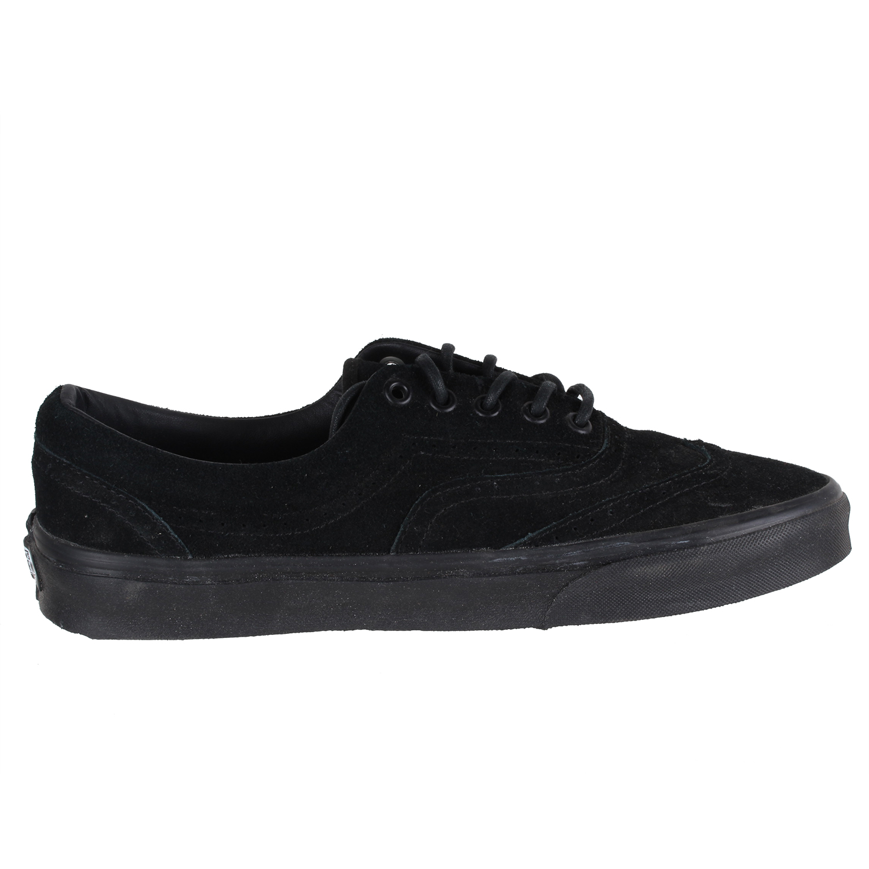 0740522e1d Vans Men s Zapato Del Barco Shoes VN-BLKCLASSICSUEDE-9.5EY Blk Sz 9.5M 11W