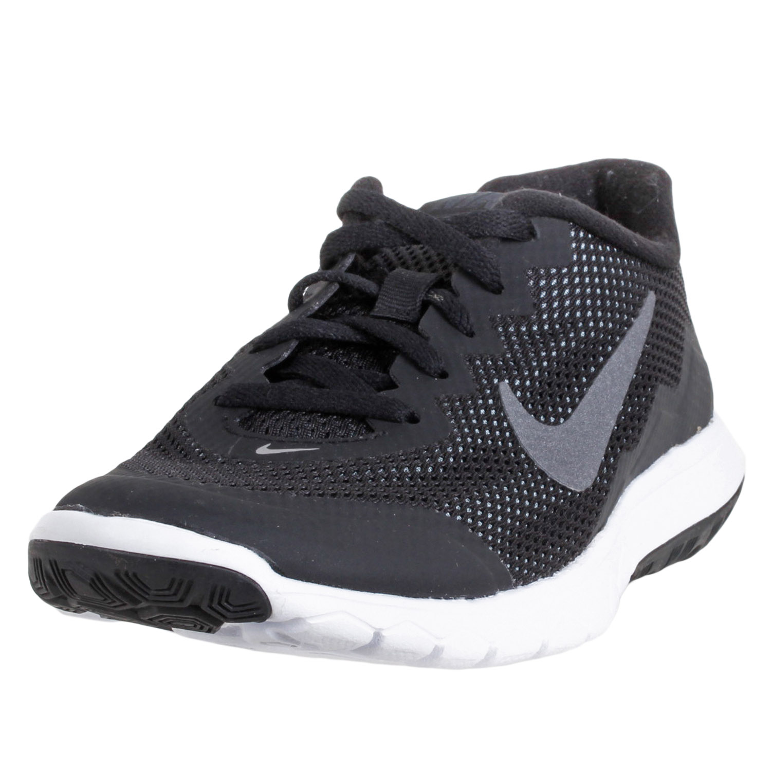 b1fc8ec9ad4d Details about Nike Women s Flex Experience RN 4 Running Shoes 749178-006-6E  Black Size 6