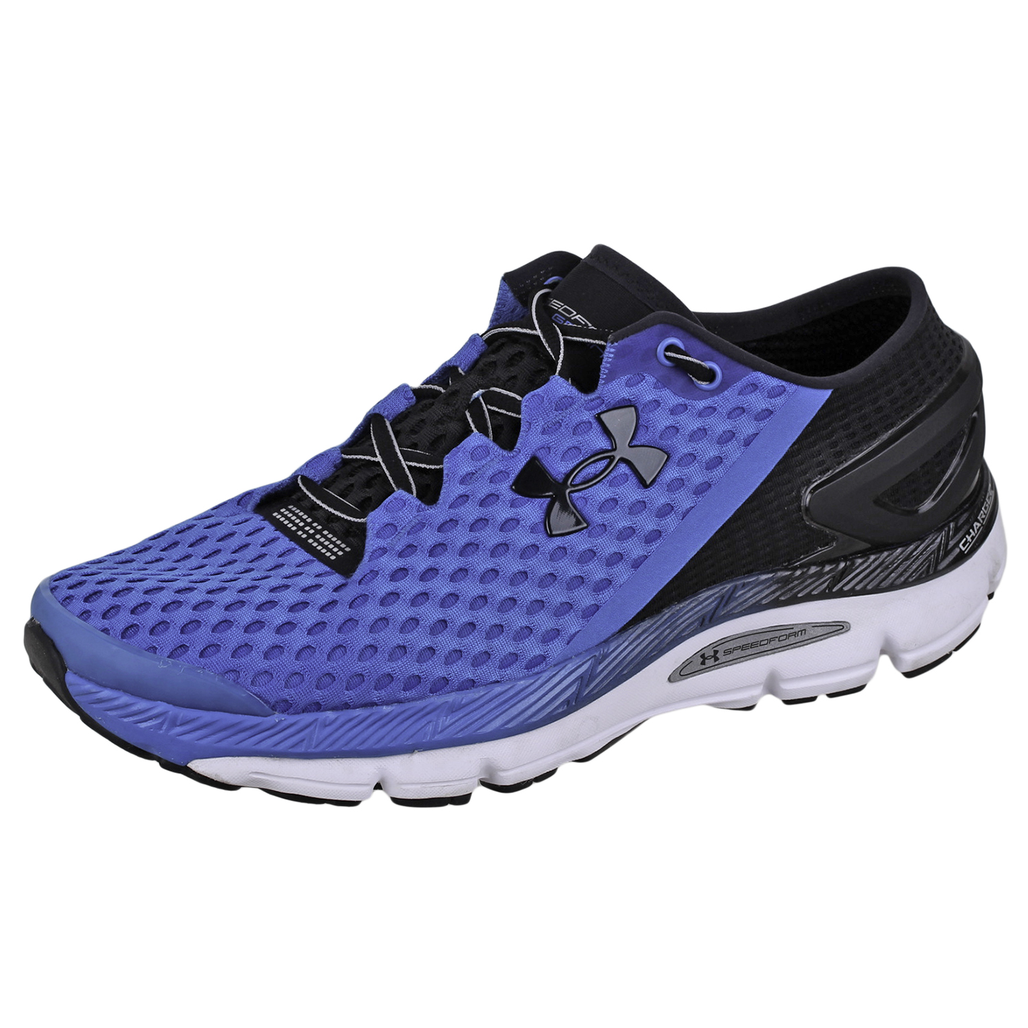 Details about Under Armour Mens Speed Form Gemini 2 Run Shoes 1266212 Blue  Black White 10 5c1b57a4818